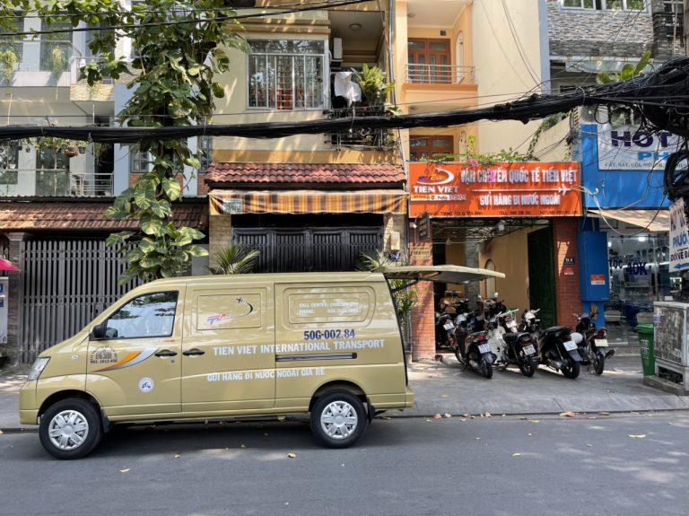 Văn phòng công ty Tiến Việt Express