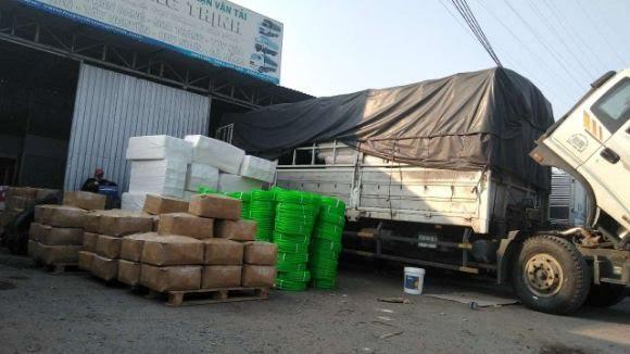 Các tuyến hoạt động chành xe gửi hàng đi Campuchia đa dạng